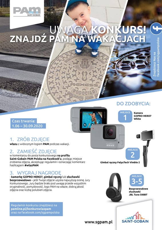 Konkurs fotograficzny - Znajdź PAM na wakacjach 2020
