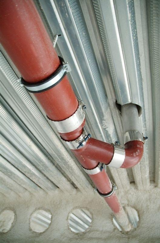 Podciśnieniowy system odprowadzania wody deszczowej EPAMS® z żeliwa sferoidalnego