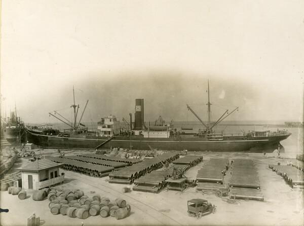 Sieć wodociągowa Bone (Annaba) w Algierii w 1905 roku