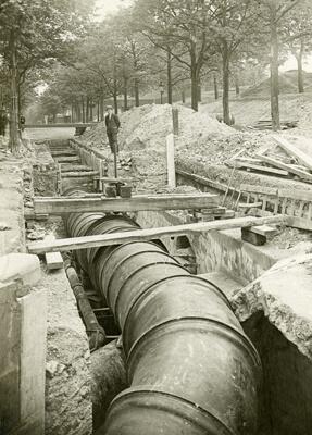 Sieć wodociągowa dla Paryża była sukcesem założycielskim firmy Saint-Gobain PAM