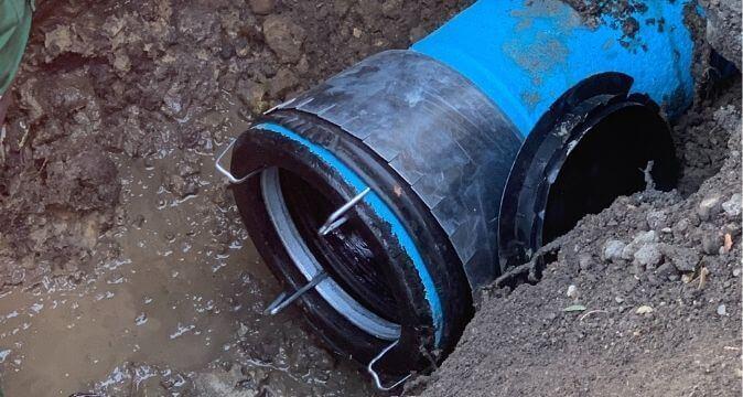 System rur i kształtek do wody TT ZMU z żeliwa sferoidalnego – Gliwice, ul. Przyszowska