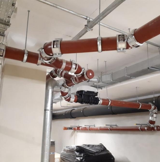 System rur i kształtek do kanalizacji wewnętrznej SMU – Hotel Radisson Blu Zakopane
