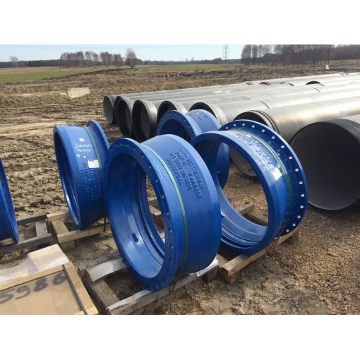 System rur i kształtek do wody CLASSIC z żeliwa sferoidalnego – Autostrada A1, Tuszyn
