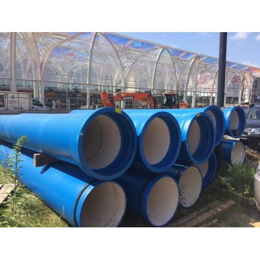 System rur i kształtek do wody NATURAL z żeliwa sferoidalnego – Referencje Saint-Gobain PAM – system NATURAL – Łódź, Al. Piłsudskiego