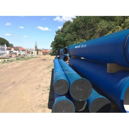 System rur i kształtek do wody NATURAL z żeliwa sferoidalnego – ul.Kujawska, Bydgoszcz
