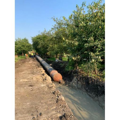 System rur i kształtek do wody TT PE DIREXIONAL z żeliwa sferoidalnego – Magistrala Południowa, Wrocław