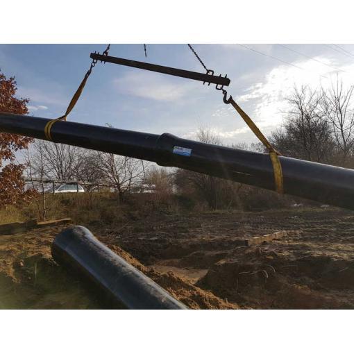 System rur i kształtek do wody TT PE DIREXIONAL z żeliwa sferoidalnego – Przewiert pod kanałem Żerańskim w Warszawie