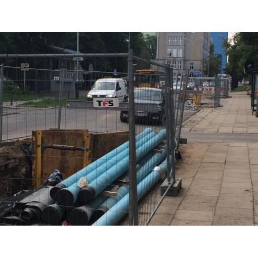 System rur i kształtek do wody TT ZMU DIREXIONAL z żeliwa sferoidalnego – Kraking ul. Sienkiewicza, Łódź