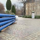 System rur i kształtek do wody NATURAL z żeliwa sferoidalnego – Bielsko-Biała, plac Ratuszowy