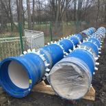 System rur i kształtek do wody NATURAL z żeliwa sferoidalnego – Magistrala Południowa, Wrocław