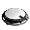 Właz RC40 z żeliwa sferoidalnego z wypełnieniem betonowym Saint-Gobain PAM