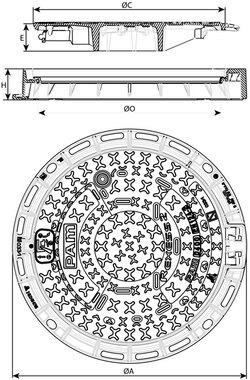 Właz REXESS 2 z żeliwa sferoidalnego Saint-Gobain PAM