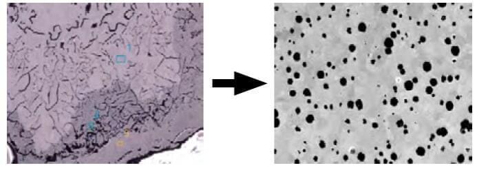 Żeliwo po dodaniu magnezu staje się żeliwem sferoidalnym